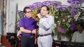 NSƯT Thanh Tuấn hát Lễ tang NSƯT thanh sang..