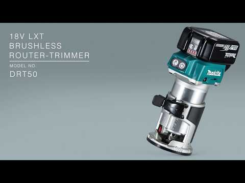 Makita DRT50ZJX3 18v Brushless Router/Trimmer Body Only With Accessories