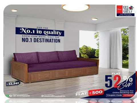 Wooden Beds Online Mumbai - Offtheshelf.in
