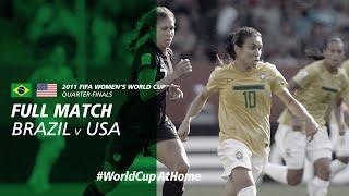#WorldCupAtHome | Brazil v USA (Germany 2011)