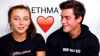 Ethan and Emma flirting for 5 minutes straight