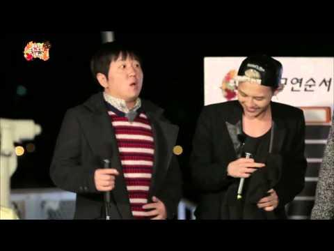 [ENG SUB] 무한도전 가요제 - 무호흡 래핑 형돈과 환상의 콤비를 이룬 지드래곤 + 흥겨운 양부장과 아이들 20131019