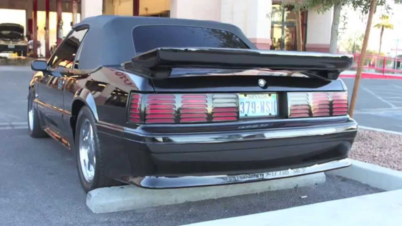 Mustang Gt Convertible For Sale >> 91 MUSTANG GT - YouTube