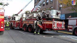 FDNY 2nd Alarm Fire - See Lot of Units / Washington Ave, Brooklyn, NY, USA, 2014.