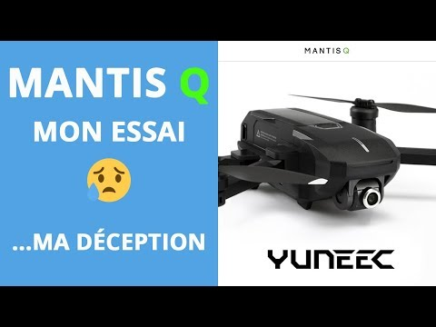 video YUNEEC Mantis Q