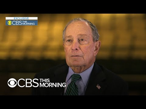 """Mike Bloomberg says he's """"not trying to take"""" Joe Biden's job in 2020 race"""