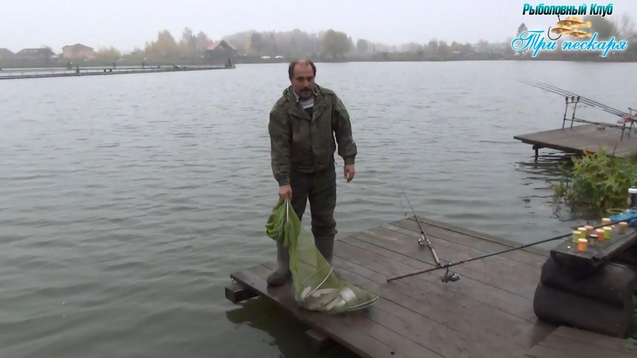 3 пескаря рыбалка лыткино