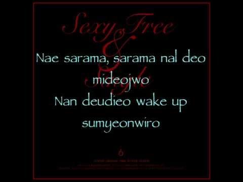 Super Junior - Sexy, Free & Single (Romanized Lyrics)