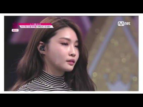 [프로듀스101] 2화 김청하 cut