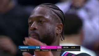 Miami Heat vs Golden States Warriors INTENSE LAST 2 Minutes Full Game Highlights | 27 Feb 2019