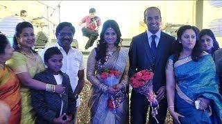 Lakshmy Ramakrishnan Daughter's Wedding Reception | K Balachander | Bharathiraja | KS Ravikumar - BW