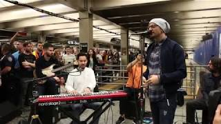 Linkin Park LIVE in Grand Central Station: