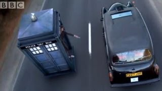 Chasing a Taxi in the Tardis | Doctor Who | The Runaway Bride | BBC Studios