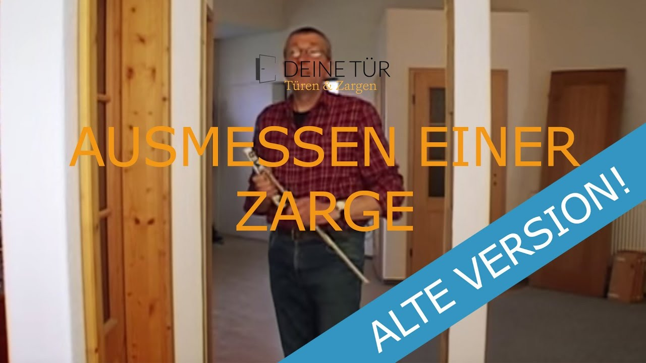 ausmessen einer zarge youtube. Black Bedroom Furniture Sets. Home Design Ideas