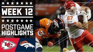 Chiefs vs. Broncos   NFL Week 12 Game Highlights