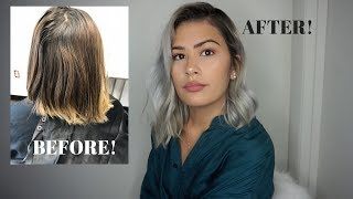 HOW TO STOP HAVING OILY/ GREASY HAIR IN 5 MINUTES!