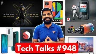 Tech Talks #948 - Redmi Note 8 Pro, Pixel 4 Launch, Realme X2 Pro Date, ISRO NavIC + Qualcomm