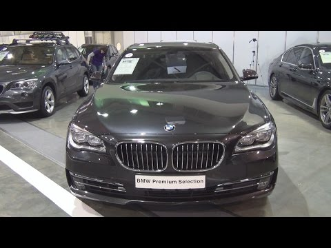 BMW 740d xDrive Sedan (2015) Exterior and Interior in 3D