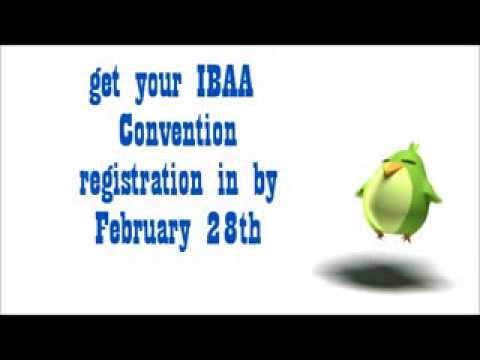 IBAA Convention 2014 - Early Bird