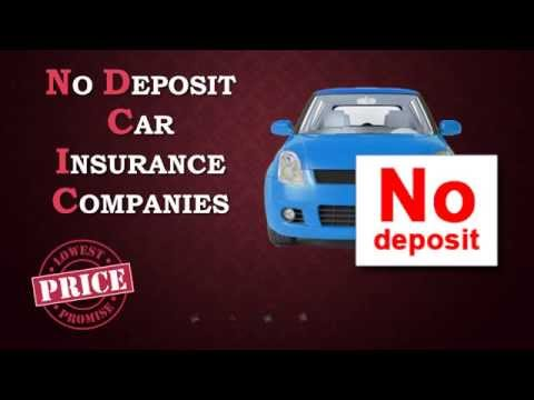 How To Get Car Insurance With No Deposit | Compare Quotes