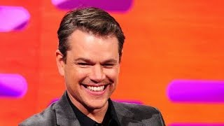 Matt Damon controls the red chair - The Graham Norton Show: Episode 16 - BBC One
