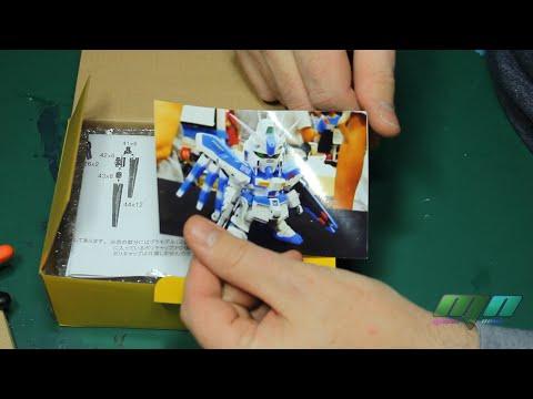 RT1989 SD Hi-Nu Gundam Unboxing