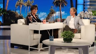 Kris Jenner Interviews Ellen to Be Her Assistant