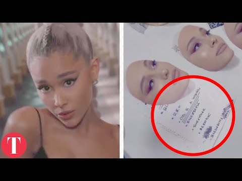 All The Hidden Messages In Ariana Grande's Music Video