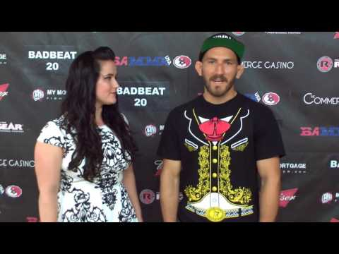 Christian Aguilera Badbeat 20 Post Fight Interview