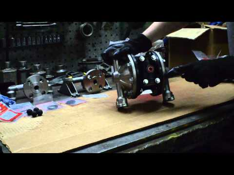 "Rebuilding a 1/2"" PD05P Half Inch ARO Diaphragm Pump"