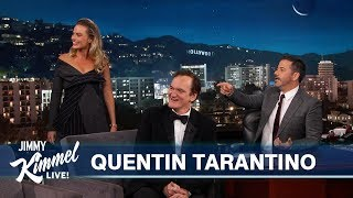 Quentin Tarantino on New Movie with Leonardo DiCaprio, Brad Pitt & Margot Robbie