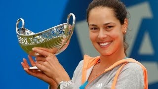 Ana Ivanovic vs Zahlavova Strycova Birmingham 2014 Final Highlights
