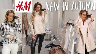 NEW IN H&M   COME SHOPPING WITH ME   AUTUMN FALL HAUL