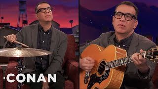 Fred Armisen Tells Jokes Only Musicians Will Understand  - CONAN on TBS