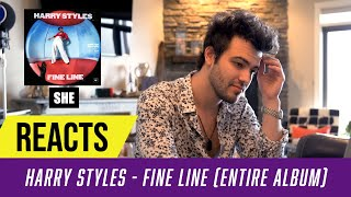 Producer Reacts to ENTIRE Harry Styles Album  - Fine Line