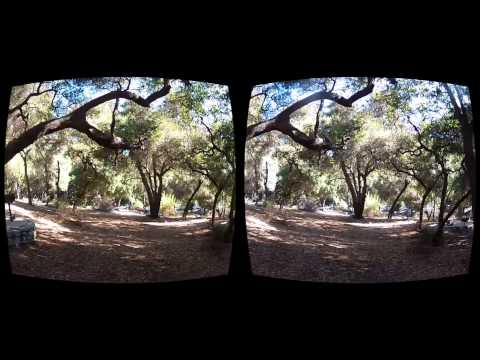 Oculus Rift 3D FPV Quadcopter - Lost in the Woods