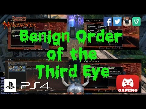 Benign Order of the Third Eye PS4