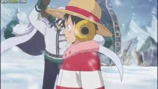 Luffy VS Smoker and Tashigi