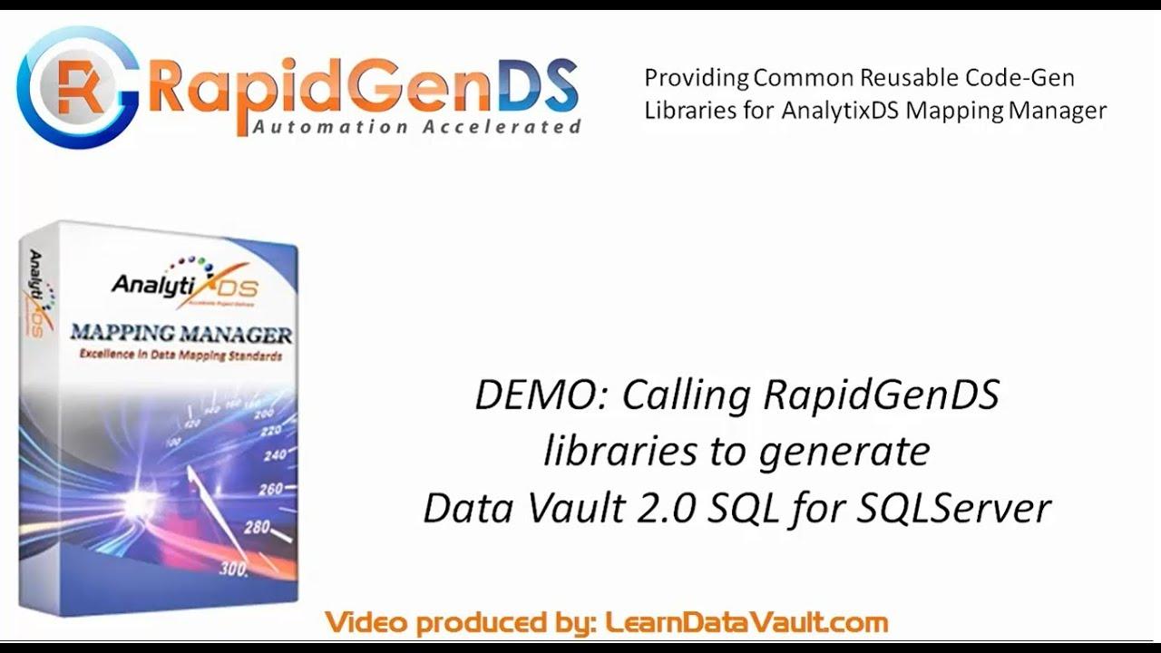 Data Vault - Magazine cover
