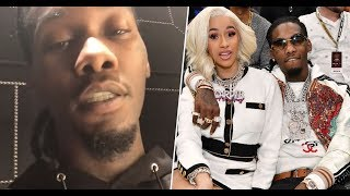 "Offset  and His ""Baby Please Take Me Back"" Video For Cardi B"