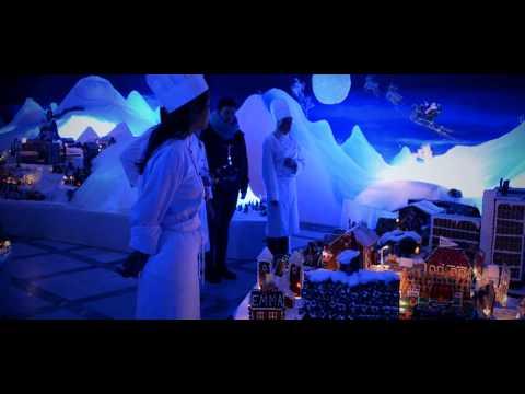 The Worlds Largest Gingerbread City - Pepperkakebyen 2012 - english version