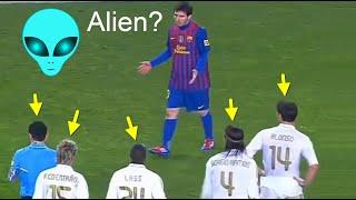 Lionel Messi is an Alien?