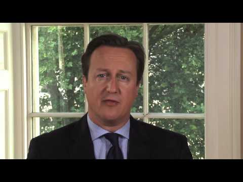Ramadan 2013: message from David Cameron - YouTube