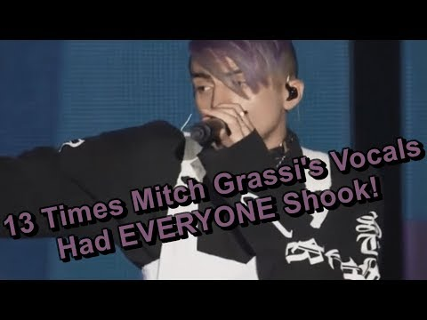 13 Times Mitch Grassi's Vocals Had EVERYONE Shook!