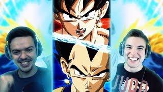 THE LR TICKET DOKKAN DUAL SUMMON! RHYMESTYLE vs NANOGENIX! Dragon Ball Z Dokkan Battle