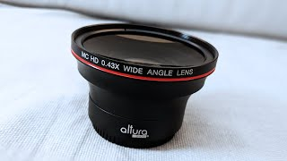 Super Macro Lens - Altura Wide Angle Lens Review 0.43X