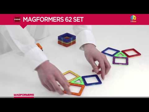 Magformers 62 - Magnetic Construction Set