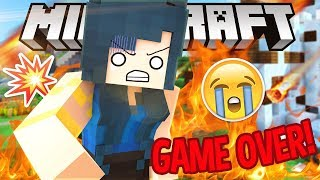 IT'S ALL GONE...IS THIS THE END? | Krewcraft Minecraft Survival | Episode 21