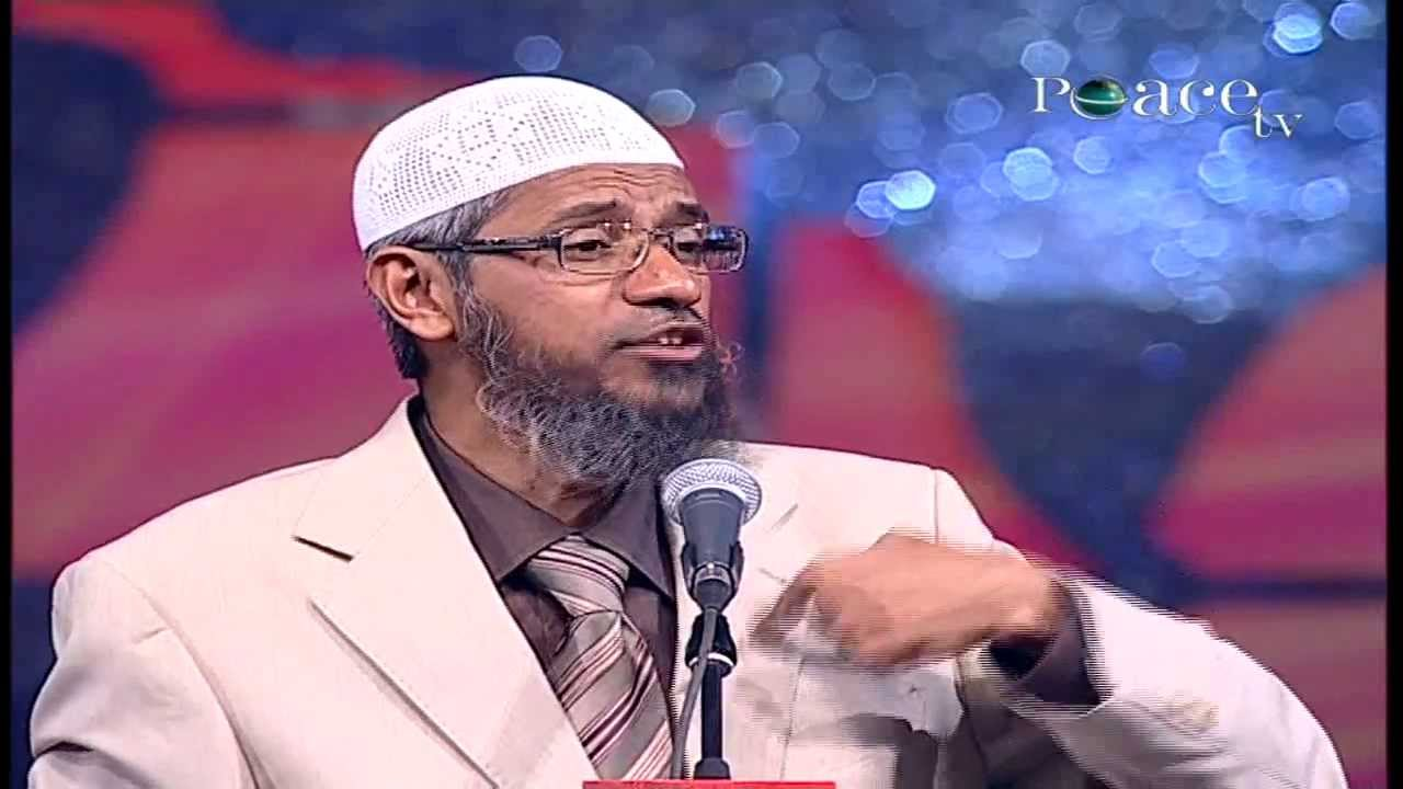 God allows Non-Veg food - Dr. Zakir Naik