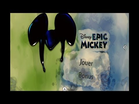 Epic Mickey : DEBUT FR Wii - YouTube Gaming